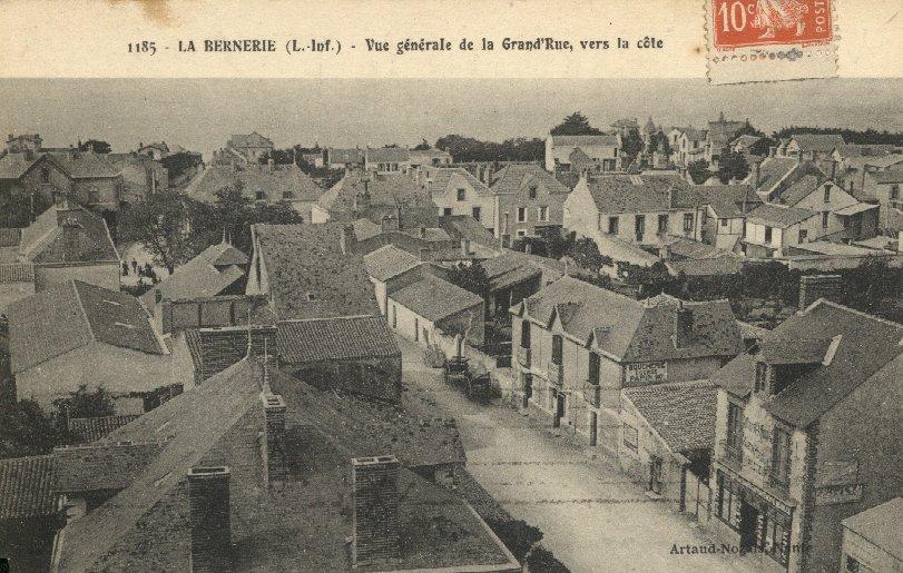 La rue de la gare
