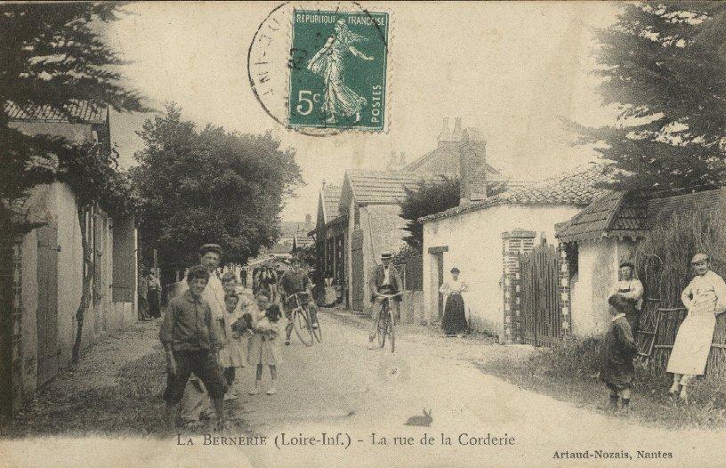 La rue de la Corderie