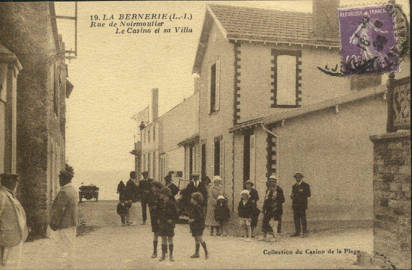 Les cartes postales anciennes de La Bernerie