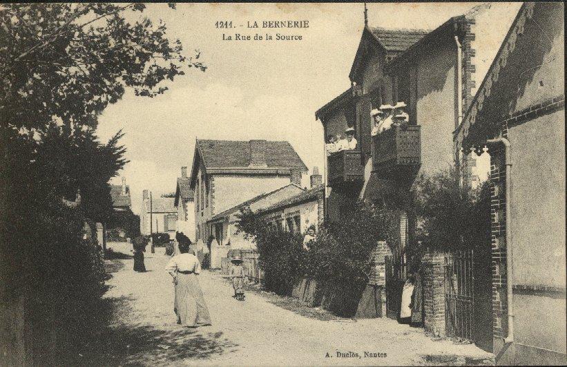 La rue de la source