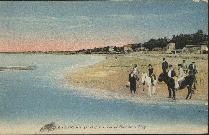 Les plages vers les Moutiers