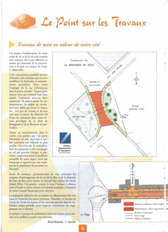 Présentation du Projet d'aménagement par René Dousset