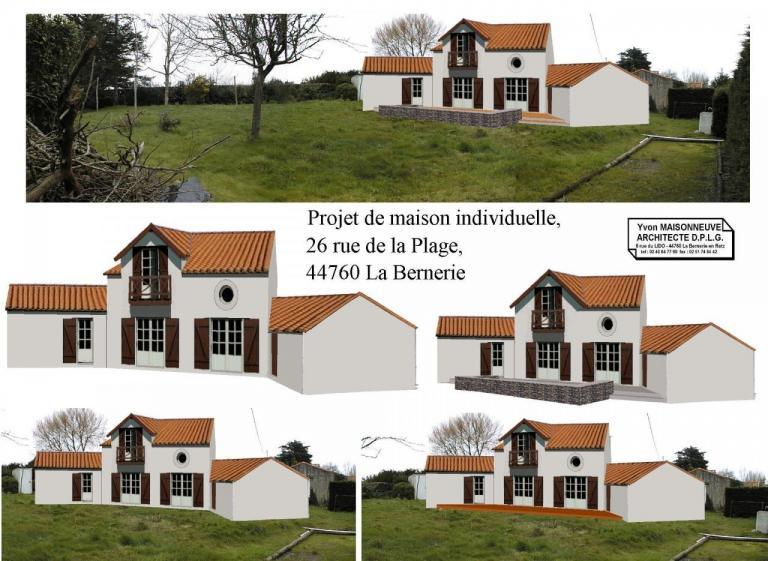 Yvon MAISONNEUVE Architecte D.P.L.G. 44760 44210