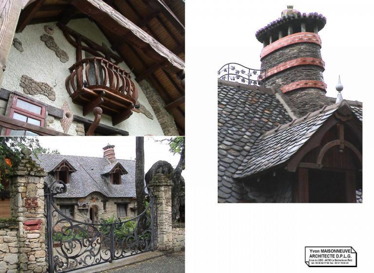 Yvon MAISONNEUVE Architecte D.P.L.G. 44760 La Bernerie