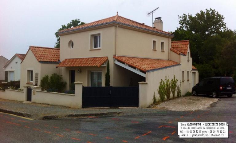 Yvon MAISONNEUVE Architecte D.P.L.G. 44760